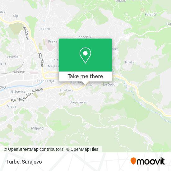 Turbe map