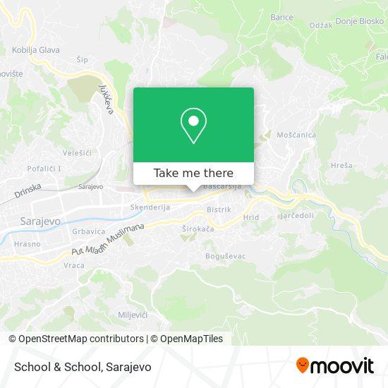 School & School map