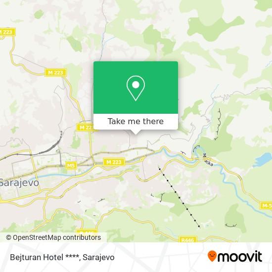 Bejturan Hotel **** map
