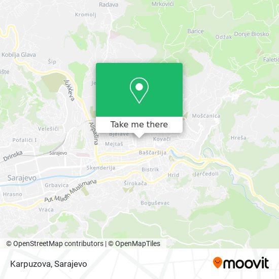 Karpuzova map