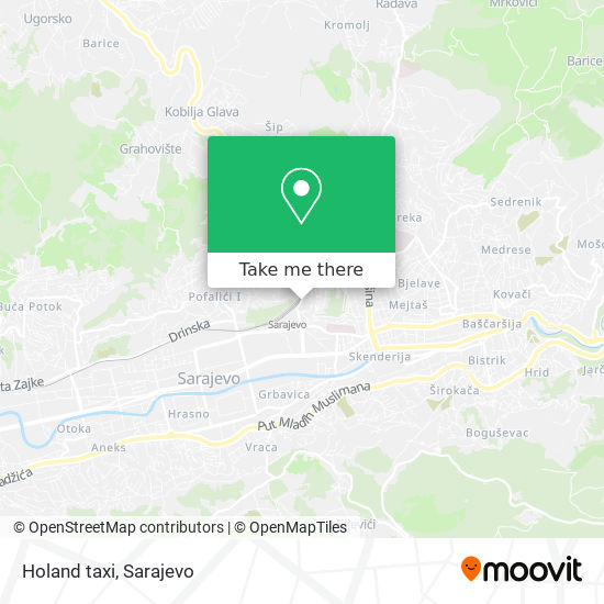 Holand taxi map