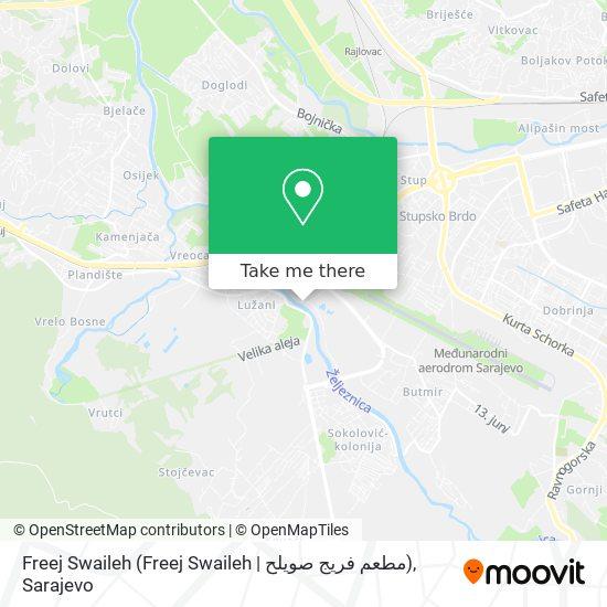 Freej Swaileh (Freej Swaileh | مطعم فريج صويلح) map