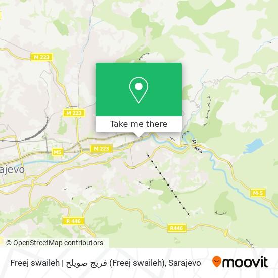 Freej swaileh   فريج صويلح map