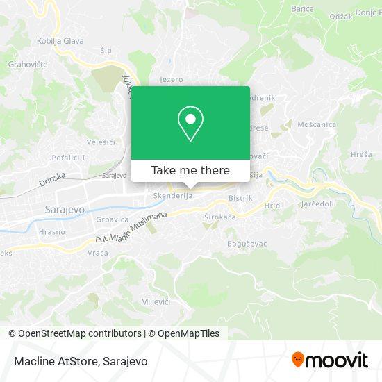 Macline AtStore map