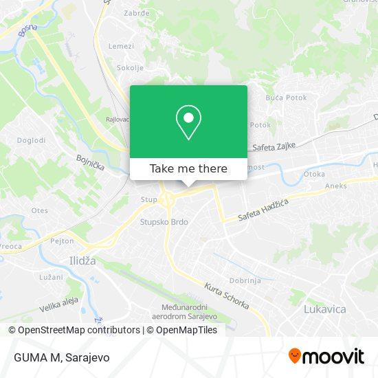 GUMA M map
