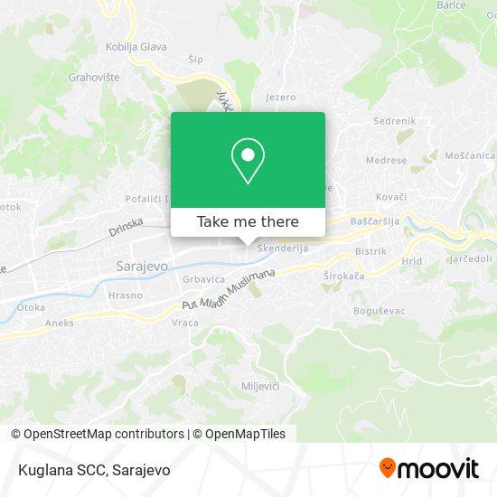 Kuglana SCC map
