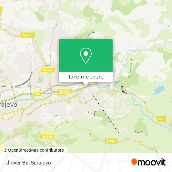 dRiver Ba map