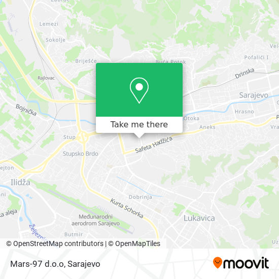Mars-97 d.o.o map