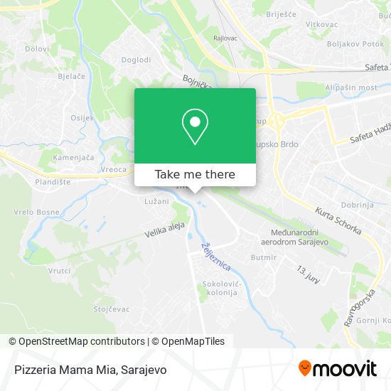 Pizzeria Mama Mia map