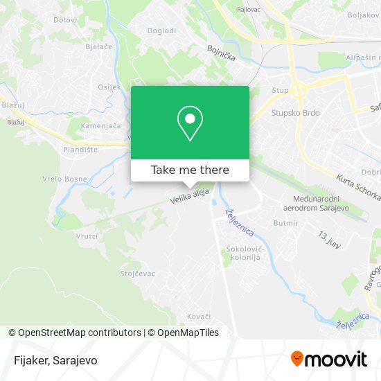Fijaker map