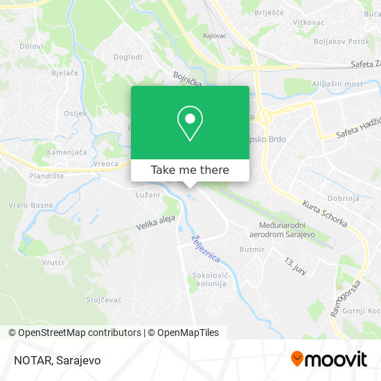 NOTAR map