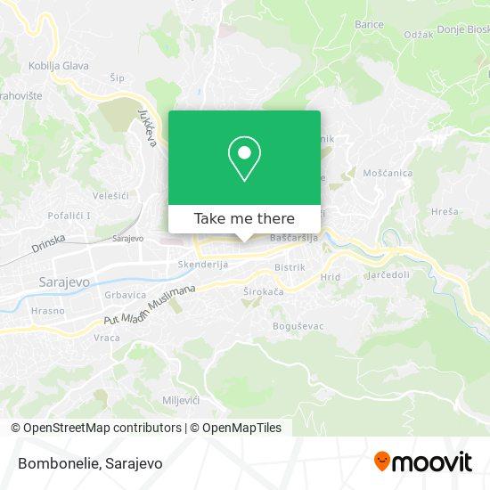 Bombonelie map