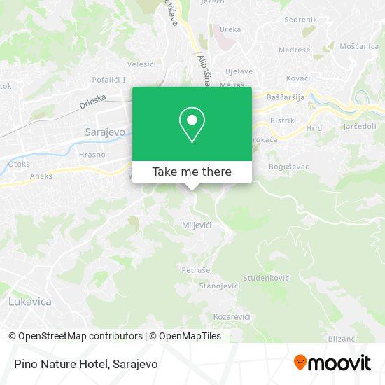 Pino Nature Hotel map