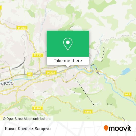 Kaiser Knedele map