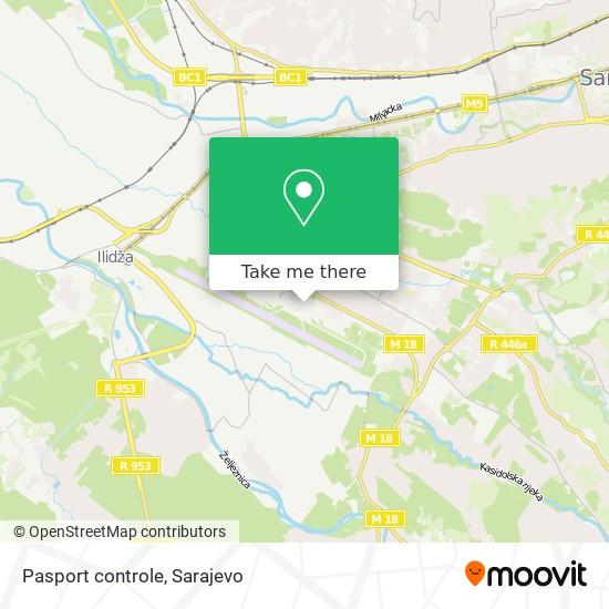 Pasport controle map