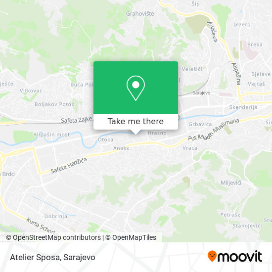 Atelier Sposa map