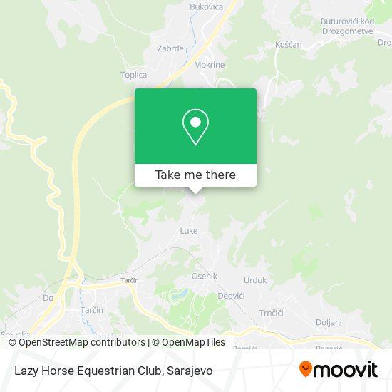 Lazy Horse Equestrian Club map