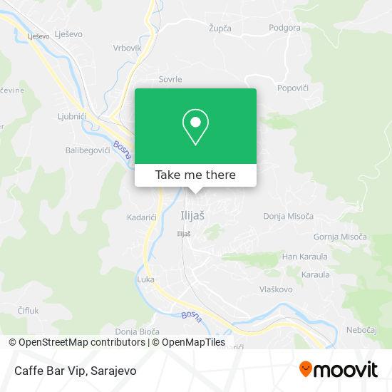 Caffe Bar Vip map