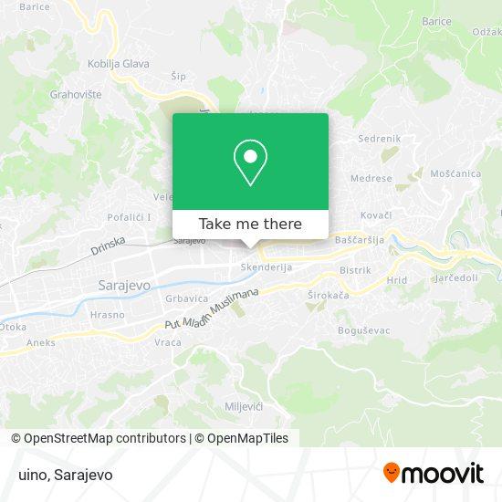 uino map
