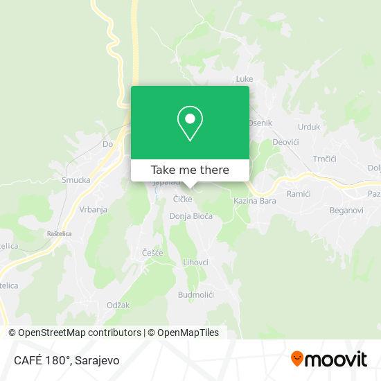 CAFÉ 180° map