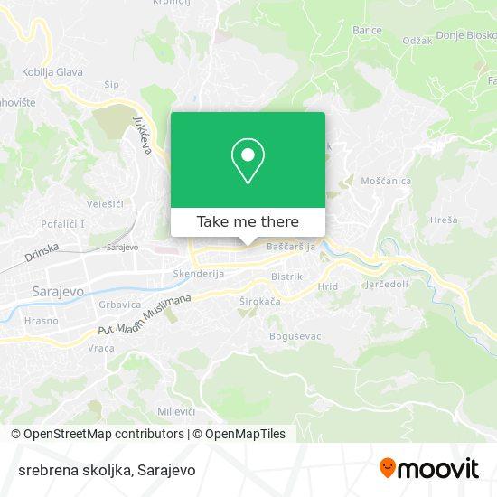 srebrena skoljka map
