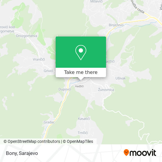 Bony map