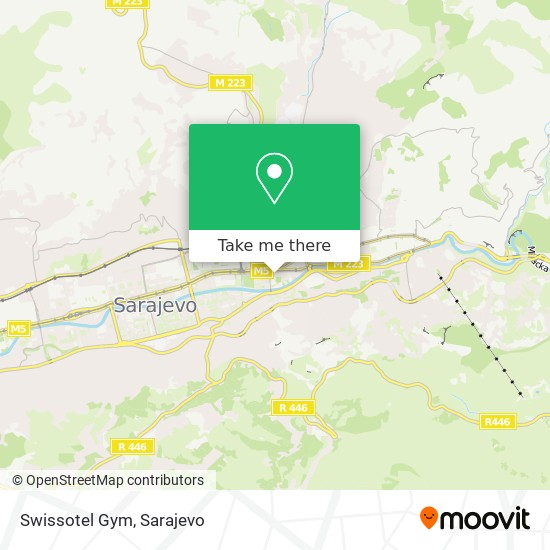Swissotel Gym map
