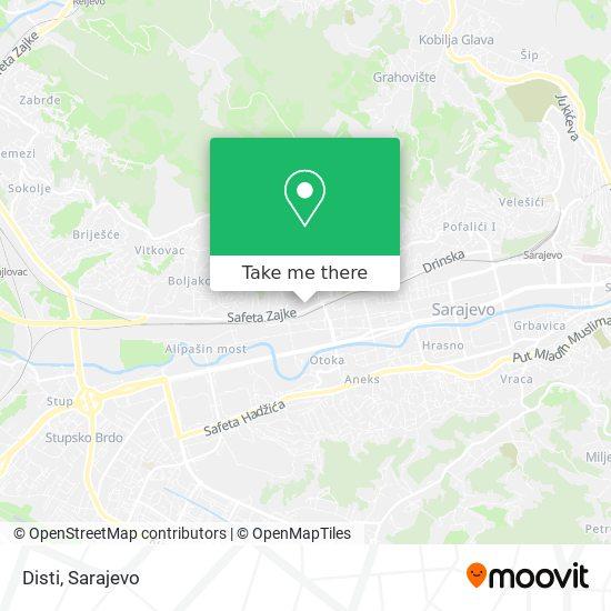 Disti map