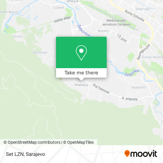 Set LZN map