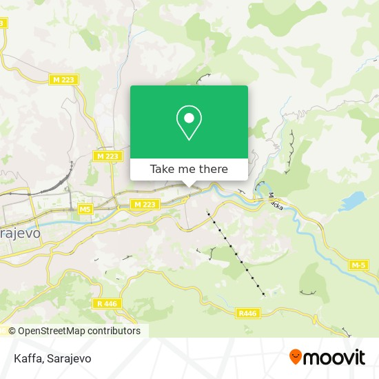Kaffa map