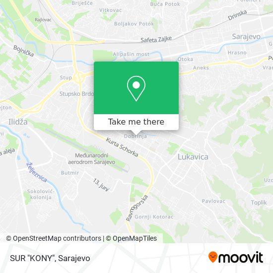 "SUR ""KONY"" map"