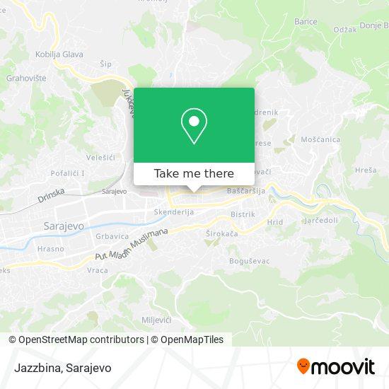 Jazzbina map