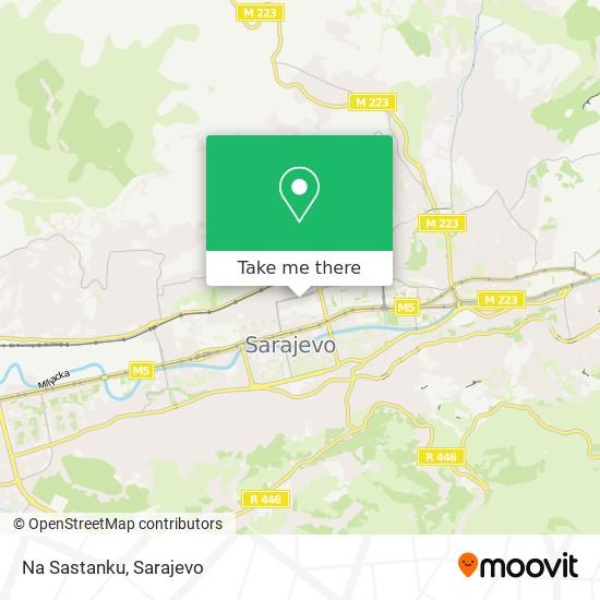 Na Sastanku map