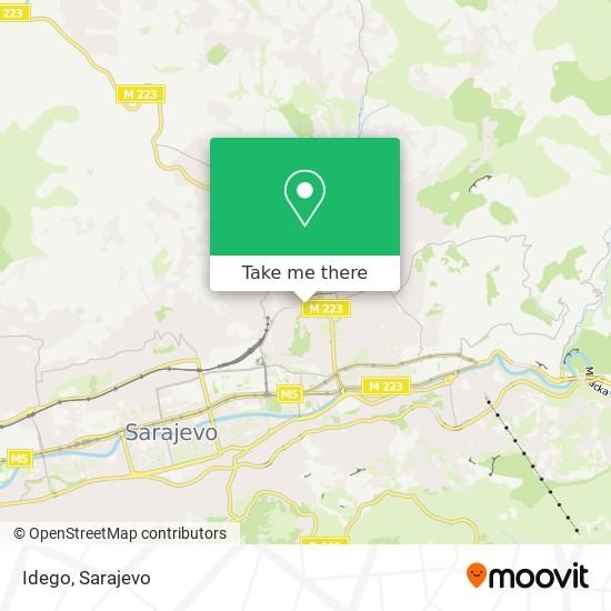 Idego map