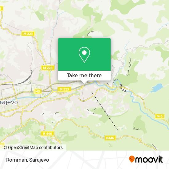 Romman map