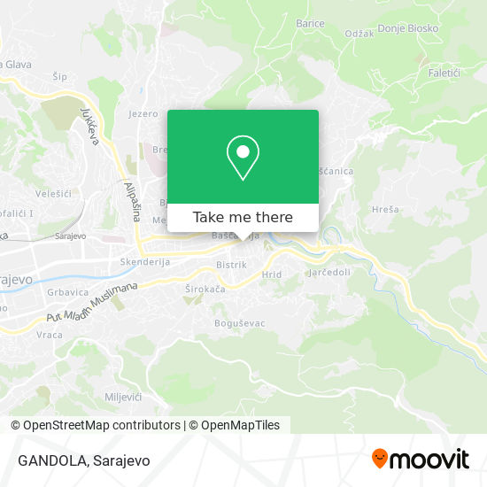 GANDOLA map