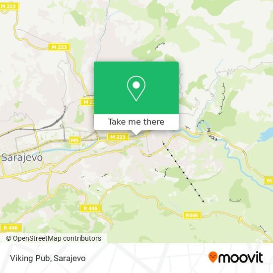 Viking Pub map