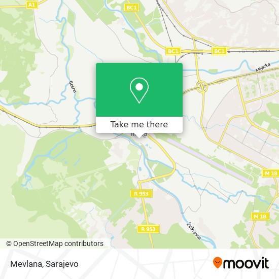 Mevlana map