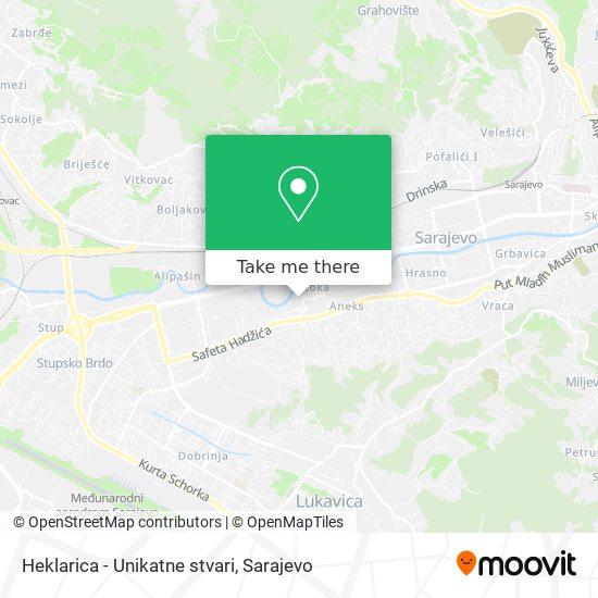 Heklarica - Unikatne stvari map
