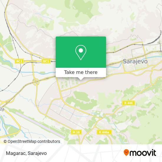 Magarac map