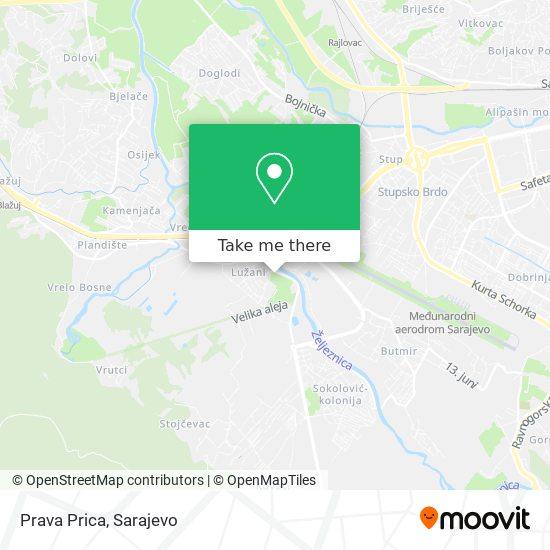Prava Prica map