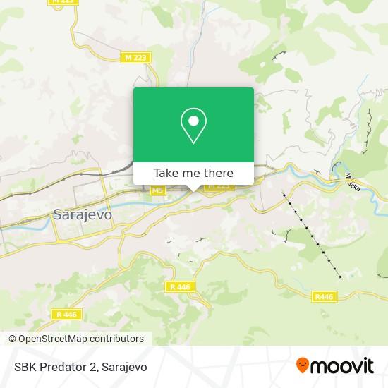 SBK Predator 2 map