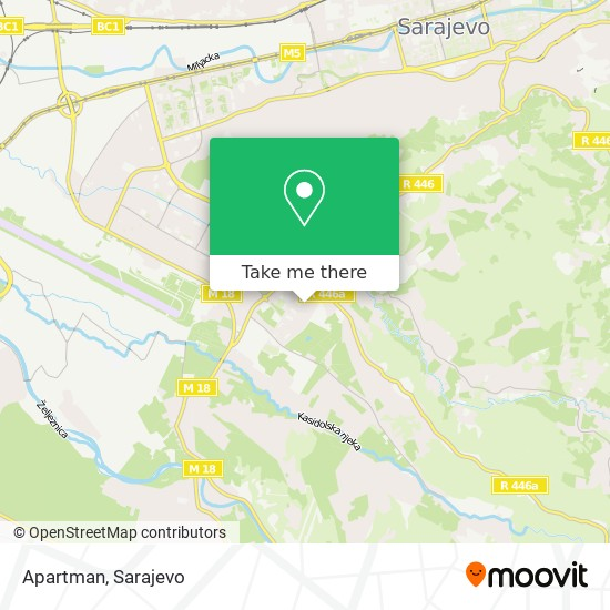 Apartman map