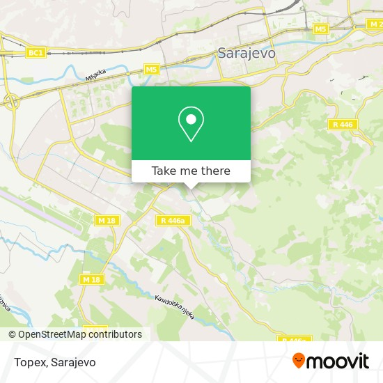 Topex map