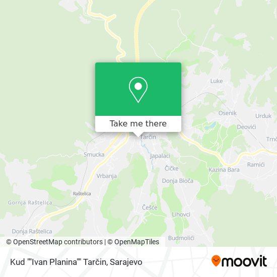 Društveni Dom Tarčin map
