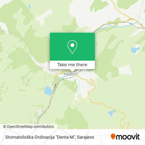 """Stomatološka Ordinacija """"Denta-M"""" map"""