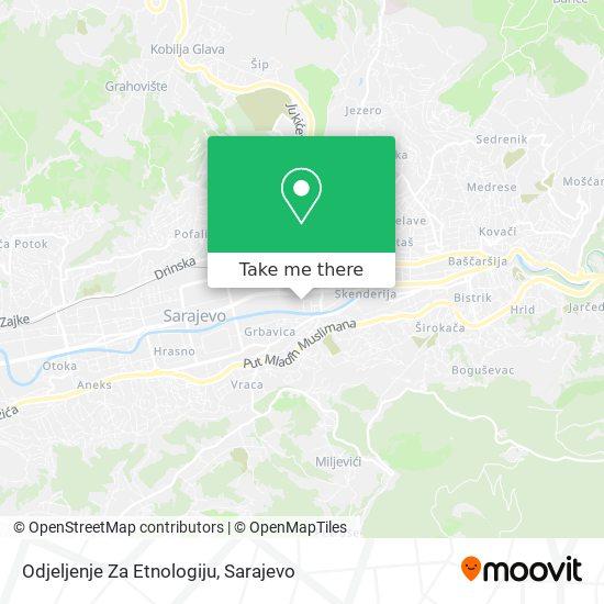 Zemaljski Muzej Bosne I Hercegovine map