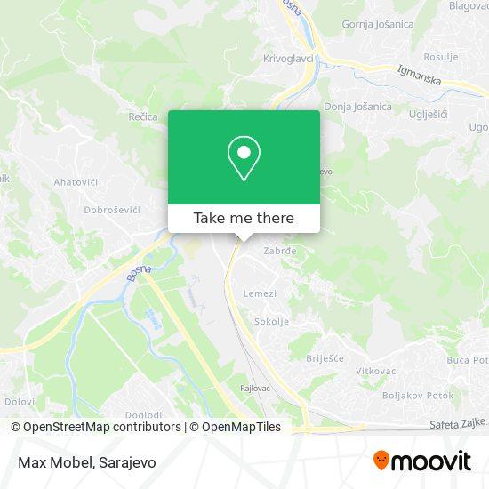 Max Mobel map