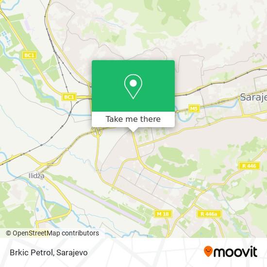 Brkic Petrol map