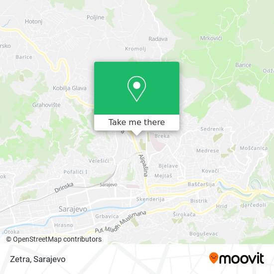Zetra map